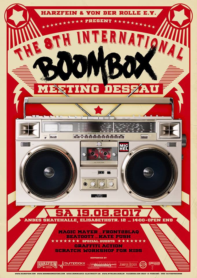 Boombox Meeting 2015 - 06.06.2015, Dessau